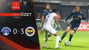 2020-2021 Kasımpaşa 0-3 Fenerbahçe maç özeti tr.beinsports.com