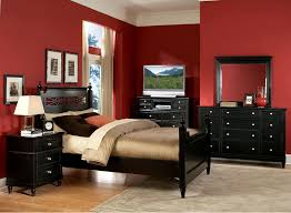 Bedroom:Brilliant Home Design Red Bedrooms Bedroom Design Red Wall Bedroom  In Painted And Red