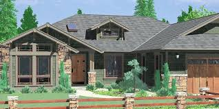 one story house plans with porches house front color elevation view for one story house plans