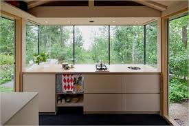 modern cottage kitchen design. A Small Cabin In Helsinki: City Cottage Modern Kitchen Design