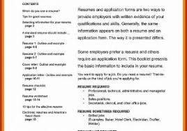 Simple Resume Format Sample From Personal Easy Resume Template Visit