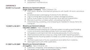 Warehouse Job Description For Resume Top Rated Jobs Operative Cv