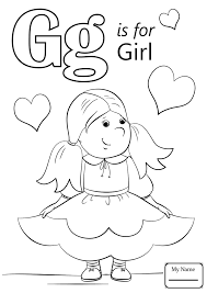 g coloring page 2318666