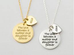 mother daughter matching necklaces