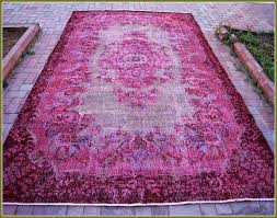 overdyed vintage rugs home design ideas within persian prepare 9