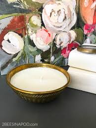 easy diy essential orange oil candles