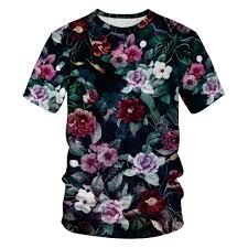 Shirt Design Flower Us 9 4 20 Off 2019 Girl Boy Harajuku Style 3d T Shirt Vintage Plant Colorful Flower Leaves Weed Design Kids T Shirt Children Pullover Tshirts In