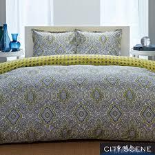city scene milan reversible 3 piece comforter set com bed sets duvet setsduvet cover setstwin xl