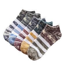 Fashion Cotton College Breeze <b>Men</b> Boat Socks <b>5 Pair</b> - $9.83 Free ...
