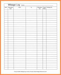 Free Printable Mileage Log For Taxes Excel Mileage Log For Taxes Unique Mileage Log Template