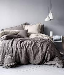 king queen linen duvet set from h m on wanelo