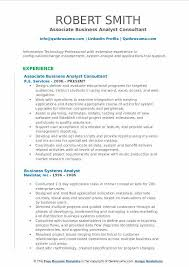 Business Analyst Consultant Resume Samples Qwikresume