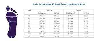 Cheap Under Armor Shoe Size Chart Buy Online Off42 Discounted