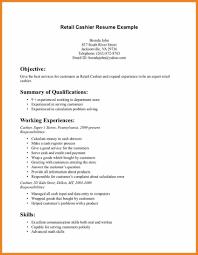 Resume Objective Examples Resume Objective Examples Retail Resume