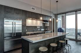 35 luxury kitchens with dark cabinets design ideas how low to hang chandelier over kitchen island