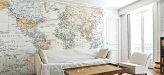 map wall mural maps wall murals maps removable wallpaper home vintage map wall mural unique world