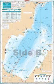 Saginaw Bay Lake Fishing Chart 74f