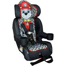 paw patrol marshall combination harness booster car seat kids toddler