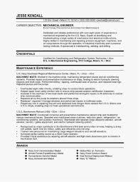 Resume Mechanical Engineer Simple Mechanical Engineering Resume