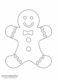 Small Picture Best 20 Gingerbread man coloring page ideas on Pinterest