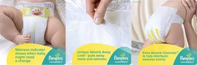 pampers swaddlers size 2 132 count pampers swaddlers diapers size 2 132 count low price jungle