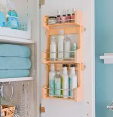 small bathroom storage shelves. 8. bottoms up and bottles out small bathroom storage shelves h