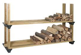 ... Hopkins Diy Firewood Rack With Roof Design: Enchanting Firewood Rack  Design ...