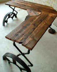 reclaimed wood office. Chic Design Reclaimed Wood Office Desk Creative Ideas W