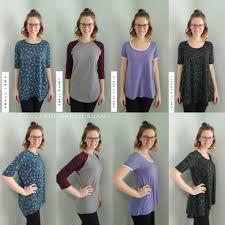 Classic Tee Lularoe Size Chart Lularoe Shirt Comparison Irma Randy Classic T Perfect T