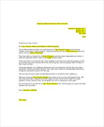 Letter of Re mendation from Landlord for Tenant1