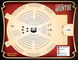 Absinthe Las Vegas Seating Chart Absinthe Seating Chart Spiegelworld