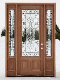 door window designs wooden wood front doors with glass door design ideas on worlddoors