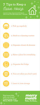 7 tips to keep a house clean