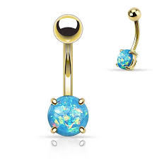 176 best opal jewelry images on belly rings gold belly on rings
