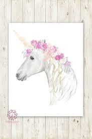baby girl wall art unicorn