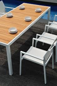 Aluminum Outdoor Dining Table Dining Sr Hughes