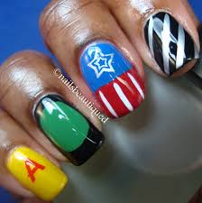 Creative & Colorful Nail Art Inspired By The Avengers | Bit Rebels