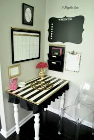 ways to decorate office. 8 Classy DIY Black \u0026 White Striped Projects For Your Home Office Ways To Decorate S