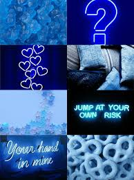 Blue Aesthetic Neon Wallpapers on ...