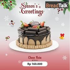 Promo Cake Coco Rain Di Bread Talk Mal Taman Palem