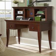 corner office desk ideas using corner brown walnut writing desk with hutch and drawers