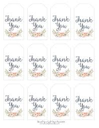 Free Printable Favor Tags Thank You Gift Tags Magdalene Project Org