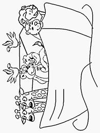 Kleurplaat Ark Van Noach Schets Noah Kleurplaat Bijbelse Kleurplaten