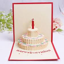 birthday pop up card bigsmall in
