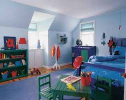 boy bedroom decor ideas. Spaceships Decorate These Bed Linens, But You Can Find The Same Rich Blue On A Host Of Patterns. Stylist: Amy Leonard. Manufacturer: Glidden Company. Boy Bedroom Decor Ideas O