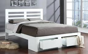 bed frame bretton wooden bed white wooden double bed frame uk white wood bed frame