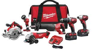 milwaukee m18 logo. home depot: milwaukee m18 6-tool combo kit only $399 shipped (was $649) \u2013 hip2save logo
