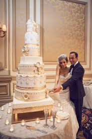 Fancy That Events White And Gold Wedding Cake Grand Cake Sugar