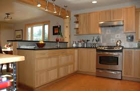 Is Bamboo Flooring Good For Kitchens Kitchen Kitchen Brown Bamboo Kitchen Cabinets And Kitchen Island