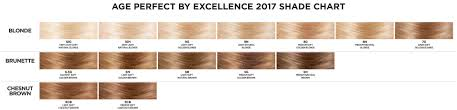 L Oreal Excellence Age Perfect Hair Color Chart Loreal Paris Age Perfect By Excellence Layered Tone